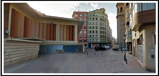 Plaza Baró de Cortes - Mercado de Russafa