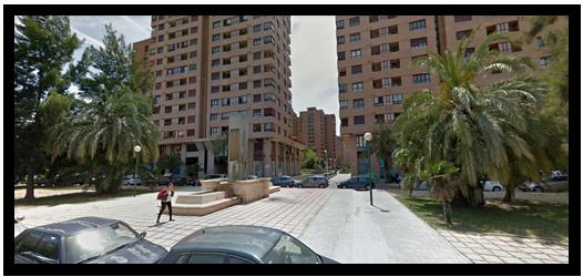 Jardín Central (Calle Guardia Civil nº 22) - Benimaclet